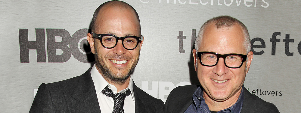 Damon Lindelof and Tom Perrotta, co-creators of The Leftovers.