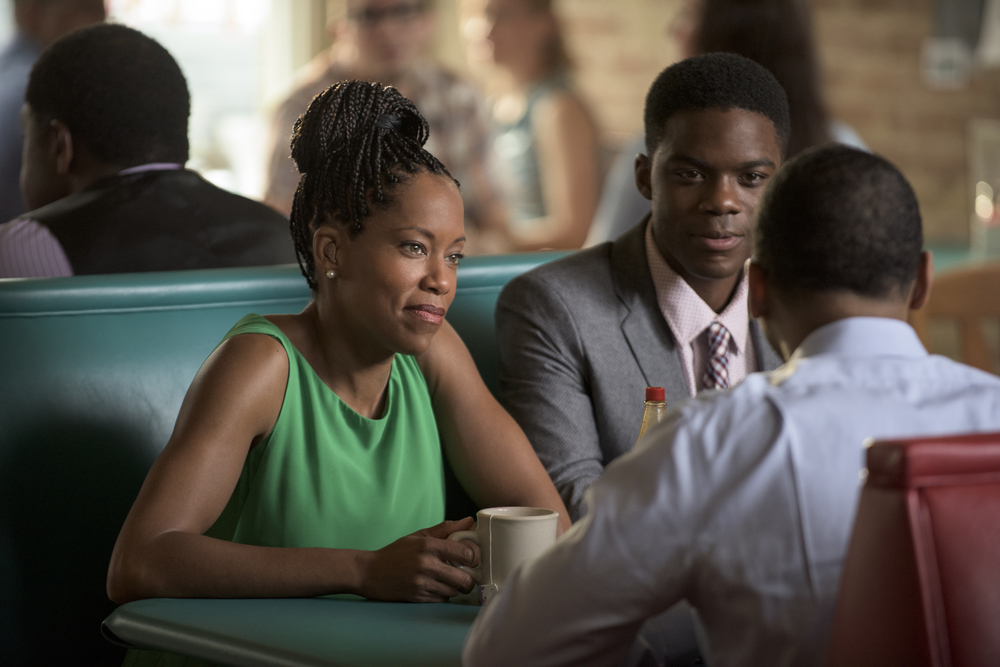 Regina King as Erika Murphy, Jovan Adepo as Michael Murphy