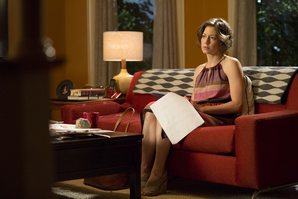 Interview with :    Carrie Coon, Actress Explains Why Nora's Anger Is Refreshing