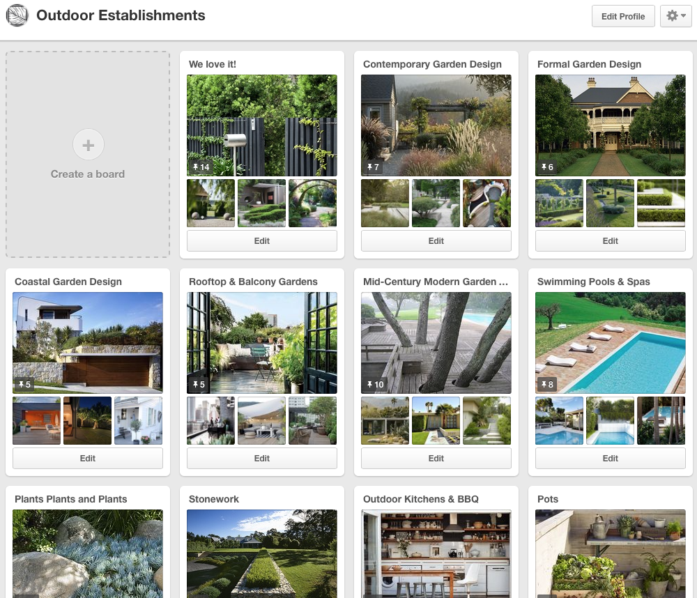 outdoor establishments landscape design pinterest