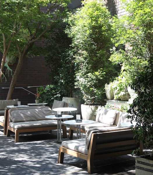The Courtyard at The Beresford Hotel by Merivale Group