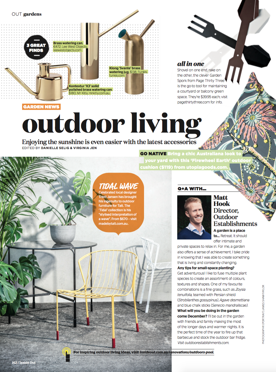 Outdoor Establishments Inside Out Magazine