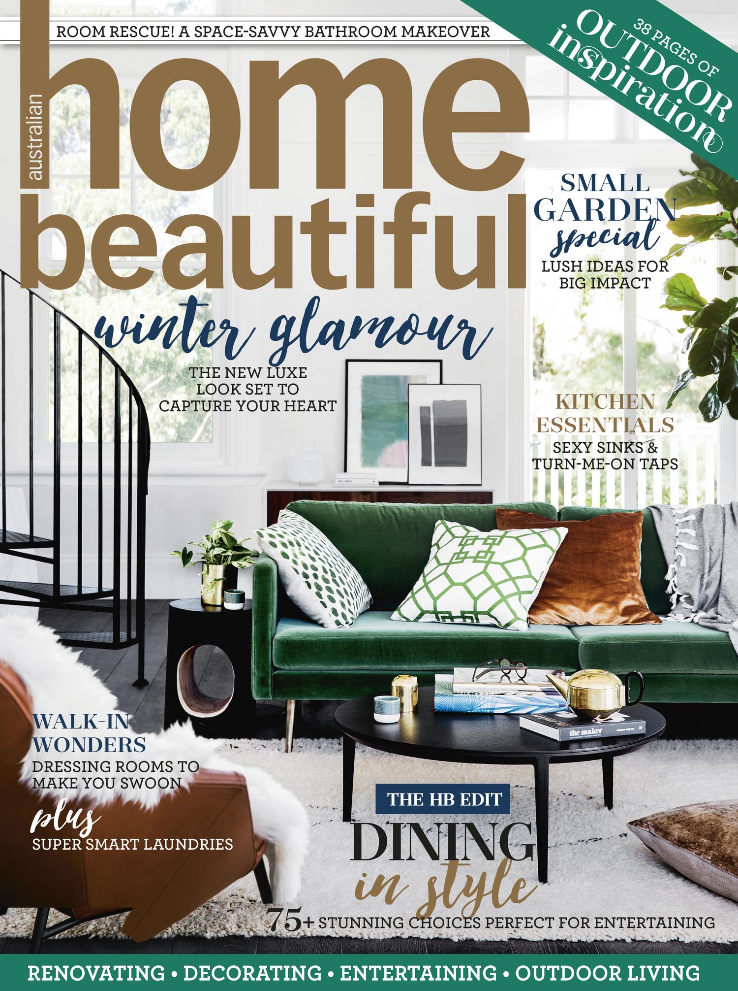 Home Beautiful Magazine home beautiful magazine august 2016 — sydney landscape