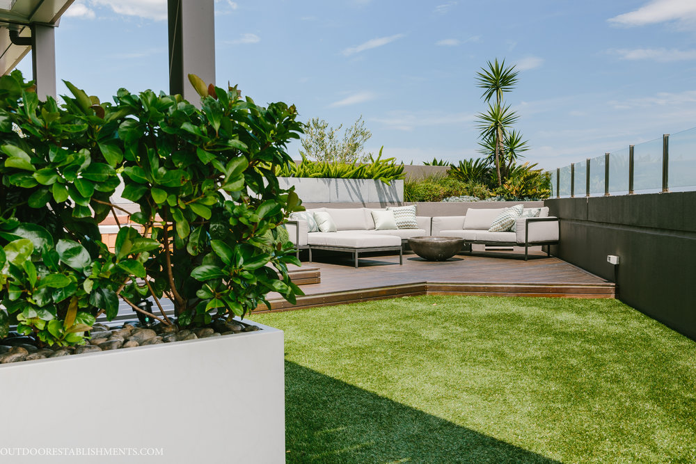Chatswood penthouse garden