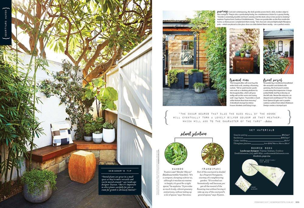 Outdoor Establishments Garden Design Ideas North Shore Sydney
