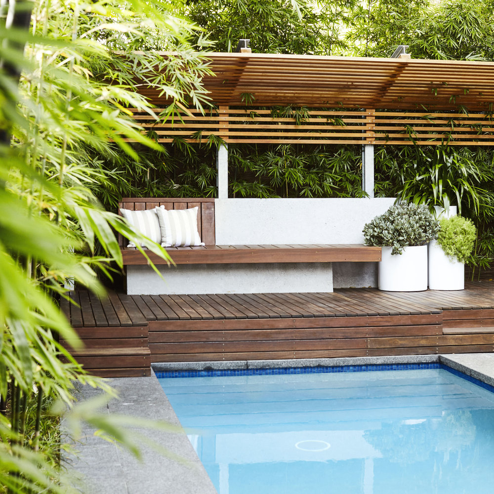 Randwick, Sydney Contemporary Garden and Pool Outdoor Establishments