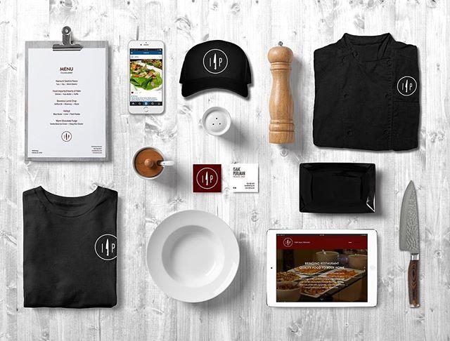 Chef IP Brand Identity #chefip #privatechef #website #instagram #apparel #businesscard #chefsknife #custommenu #food #menu #quality #menustyle #simplicity #brand @zdorn Creative Director