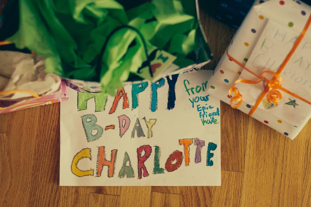 Happy Birthday Charlotte!