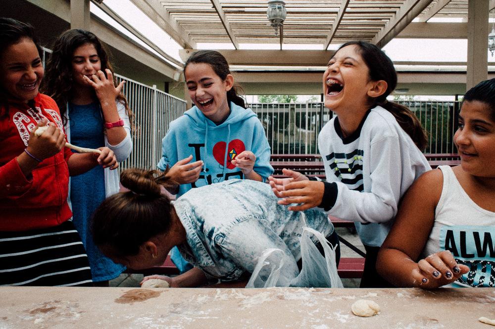 laughing, 2015