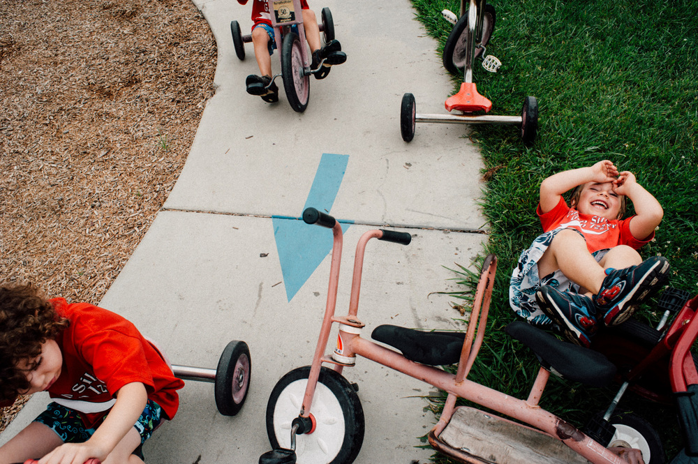 the preschool bikers