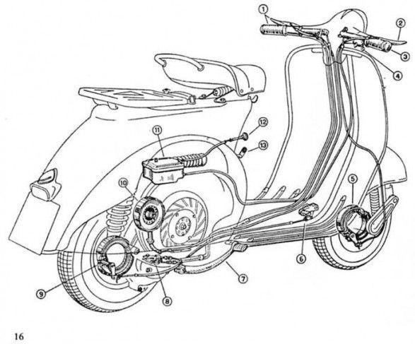 vespa scooter repair manual