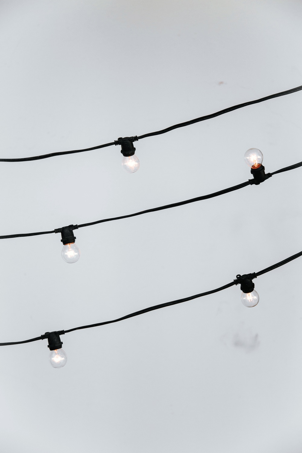 Black String Market Lighting $3.25/ft
