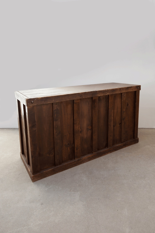 $225 Mahogany Wooden Bar 6ft
