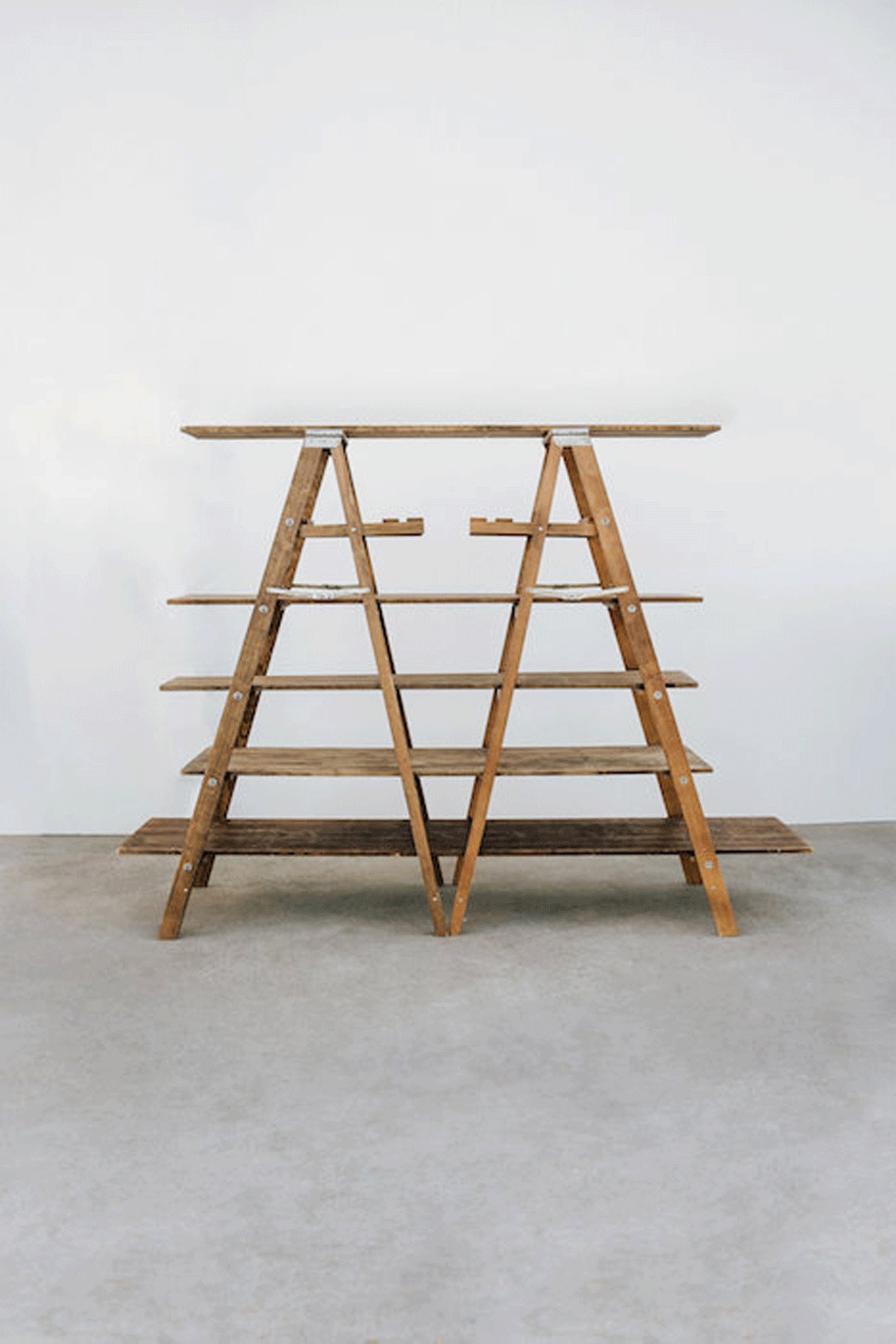 Ladder Shelving $80