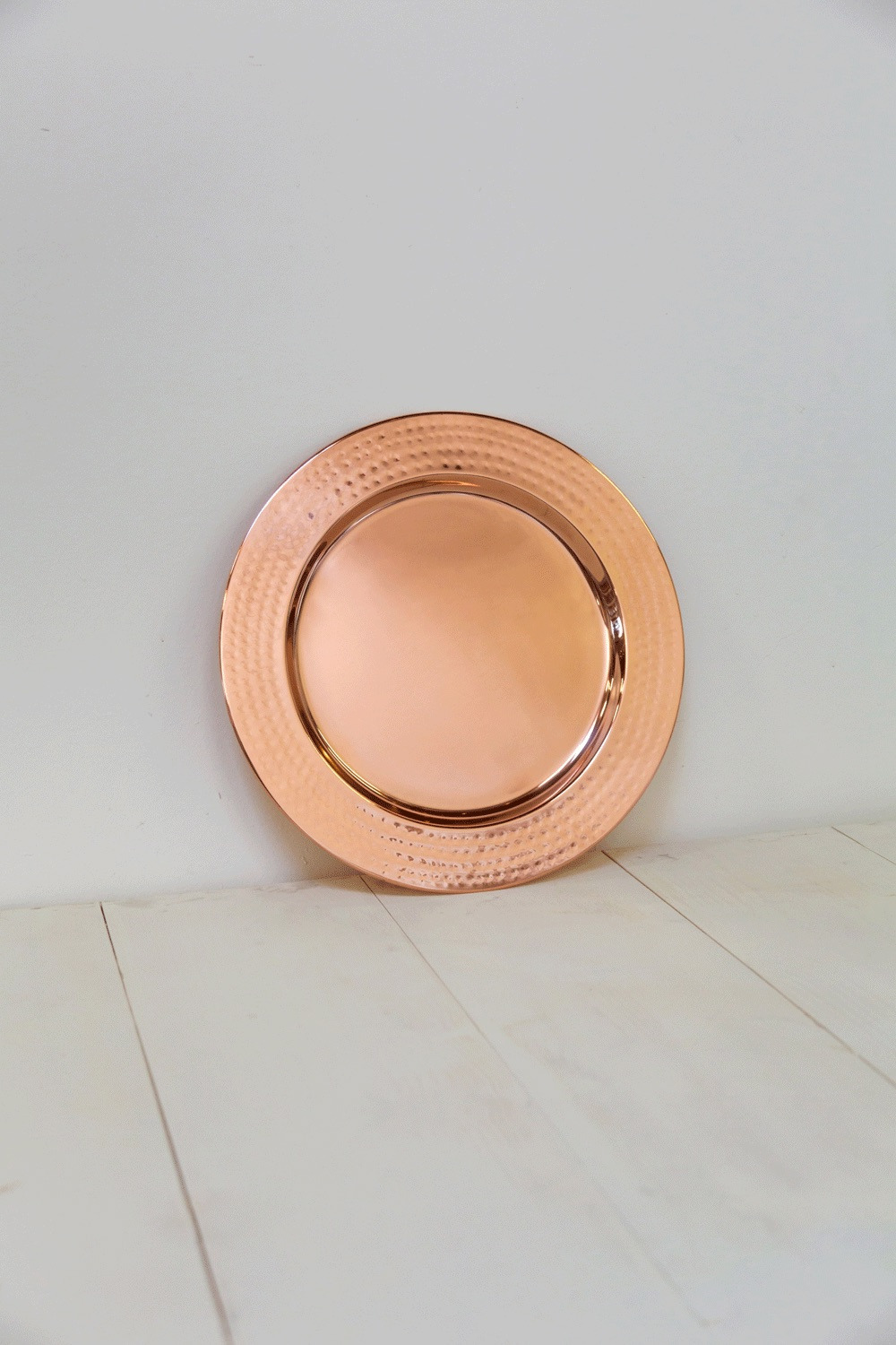 Rose Gold Charger $7