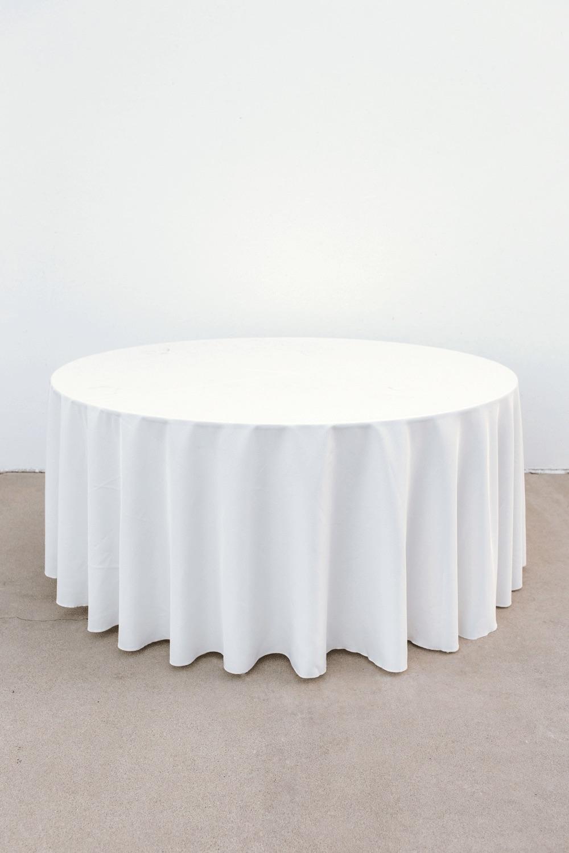 $30 Ivory Banquet Round