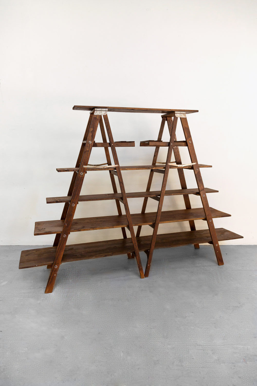 Ladder Shelving $80