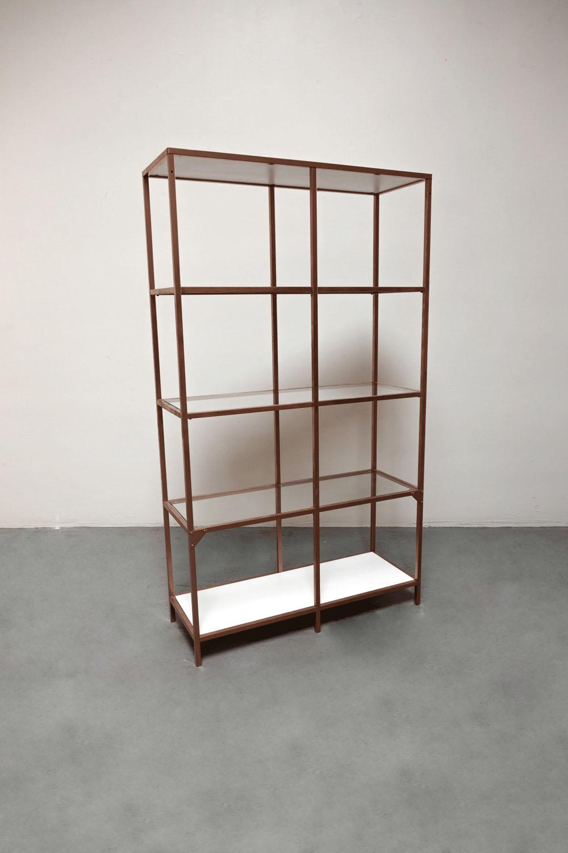 Rose Gold Shelves $100