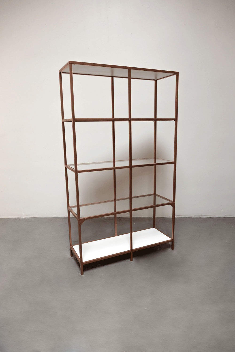 Rose Gold Shelves $100