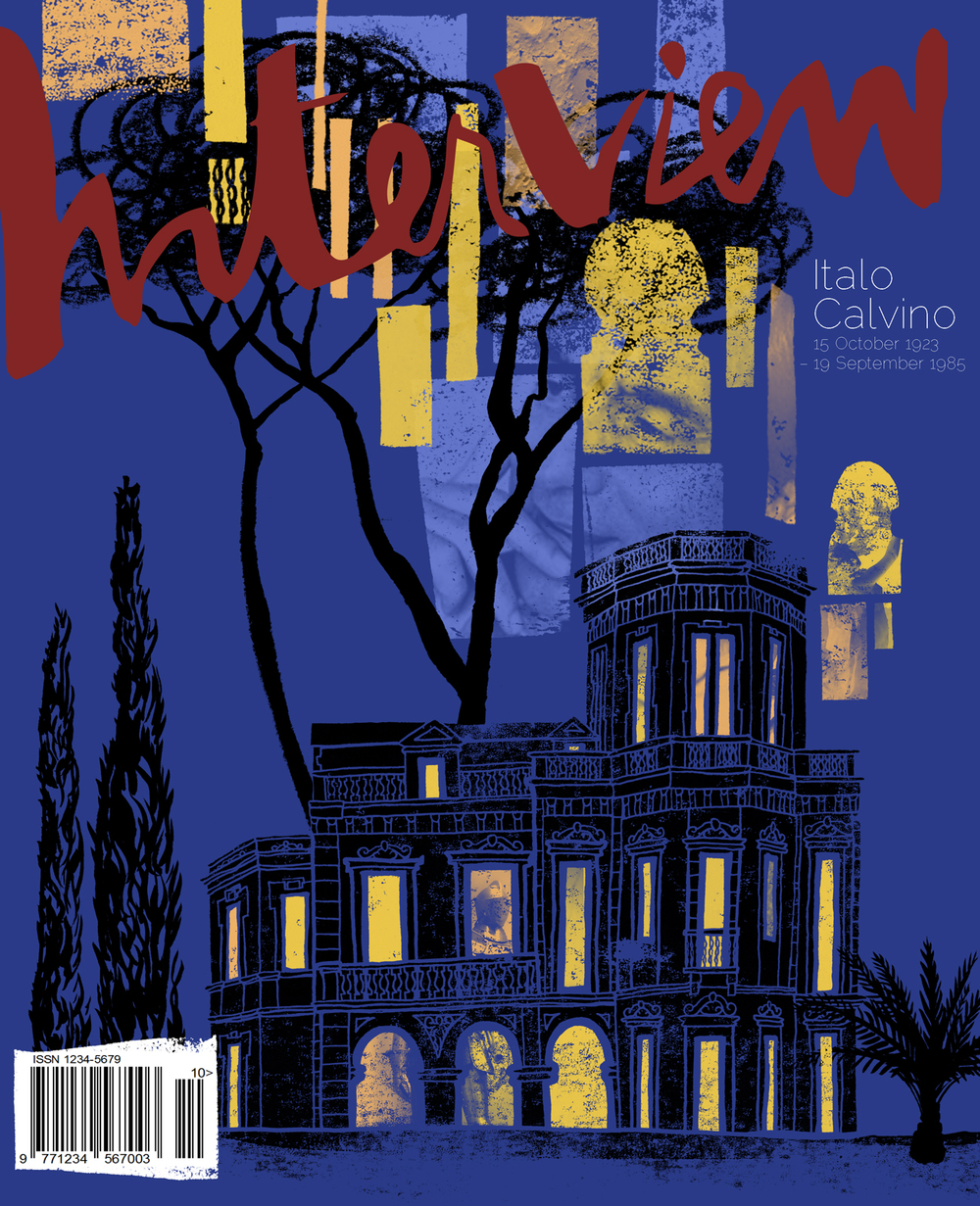 Italo Calvino Interview Cover