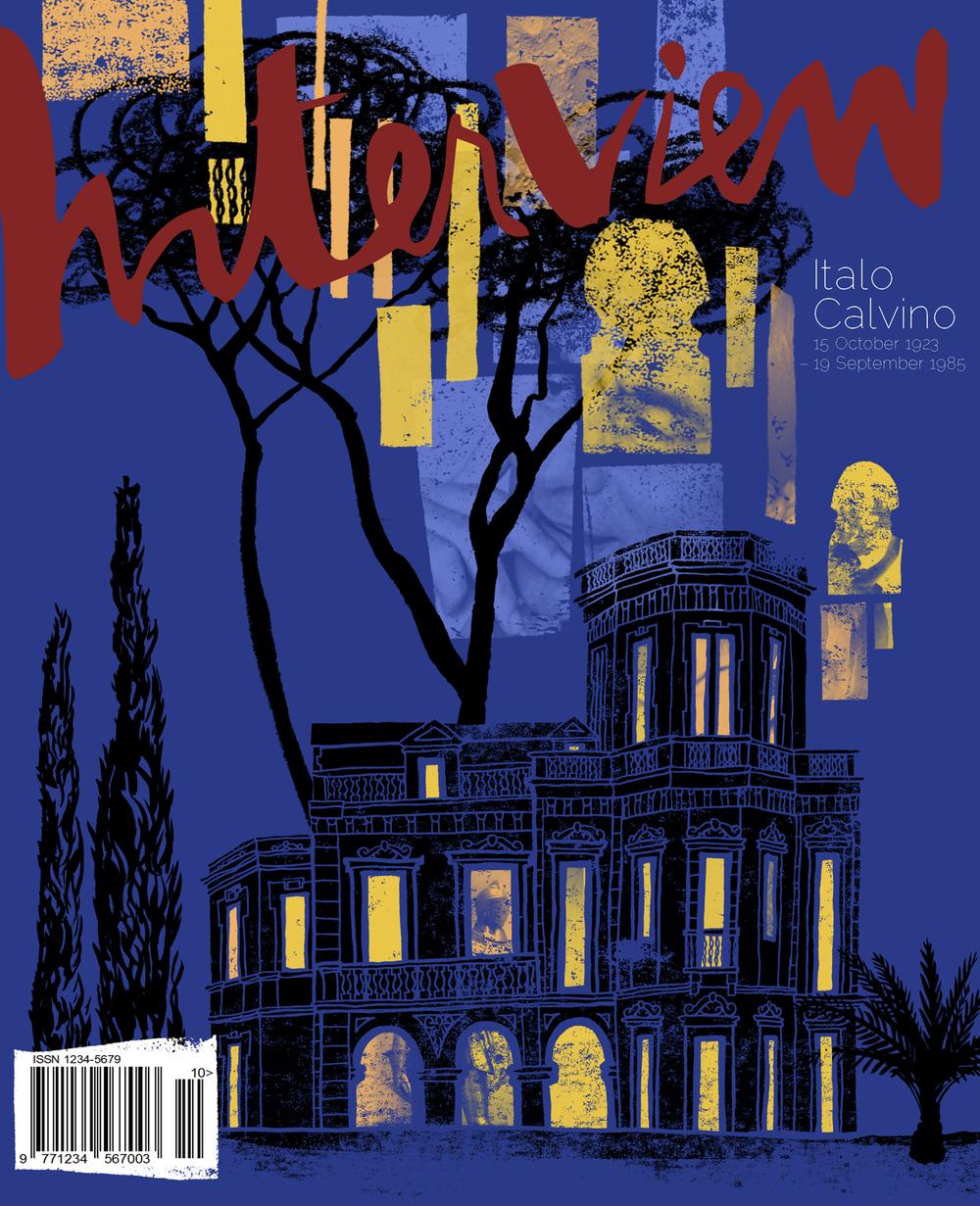 Italo Calvino Interview Cover