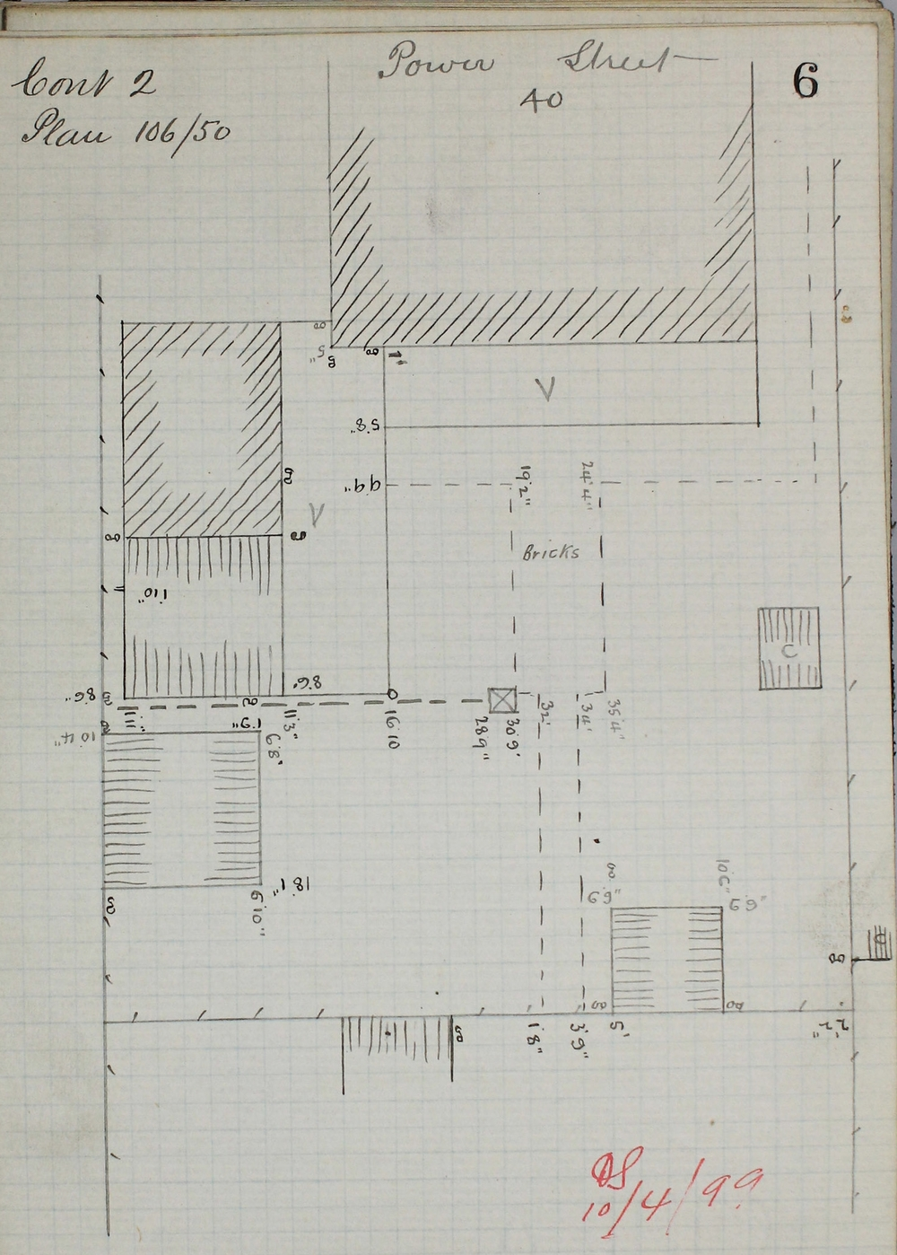 MMBW, Fieldbooks, VPRS 8600/P1 Unit 86, Book 1473, p.6.