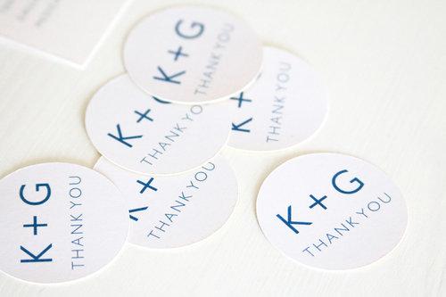 custom wedding favor stickers | favor tag | favor decal | thank you sticker