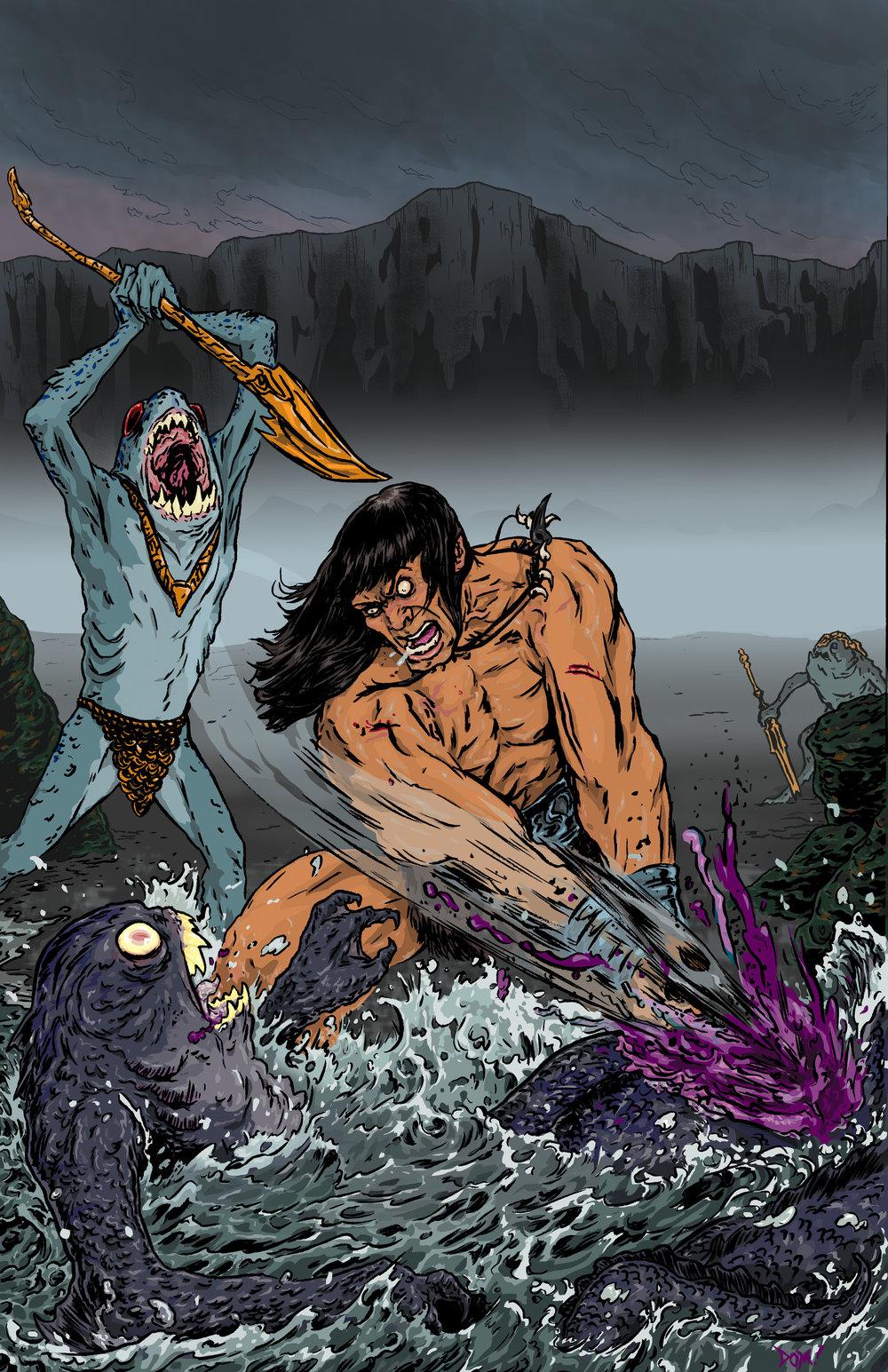 Conan Vs. Deep Ones
