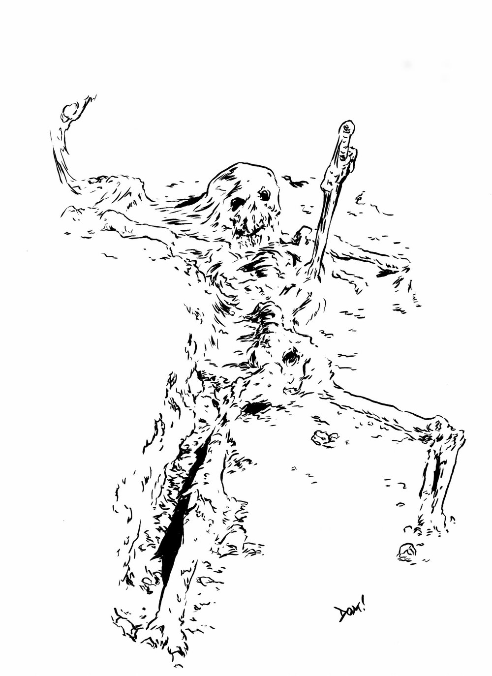 Cave Skeleton