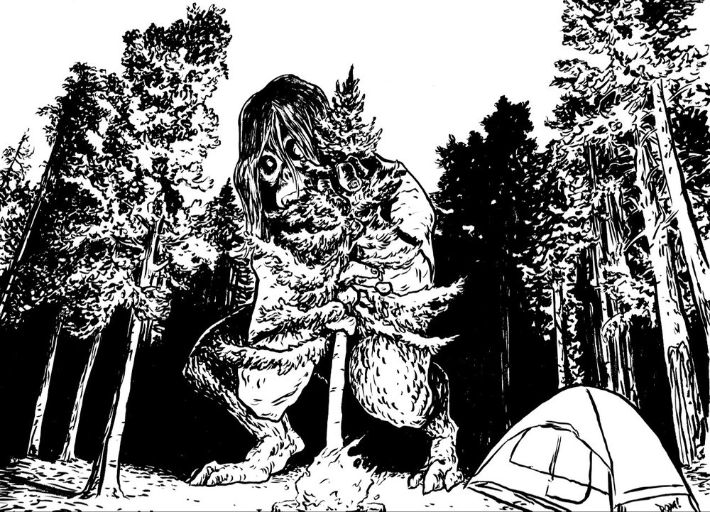 Shy Woods Monster