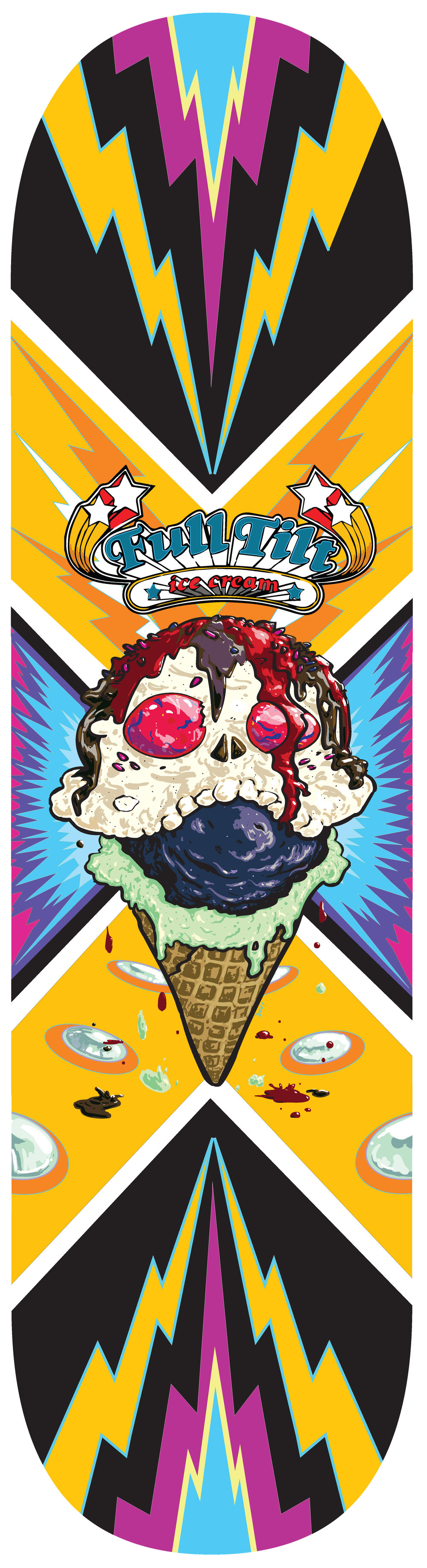 Skateboard Design: Full Tilt Ice Cream