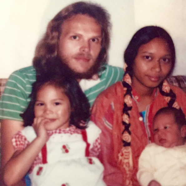 Maya The Shaman and her family, 1980