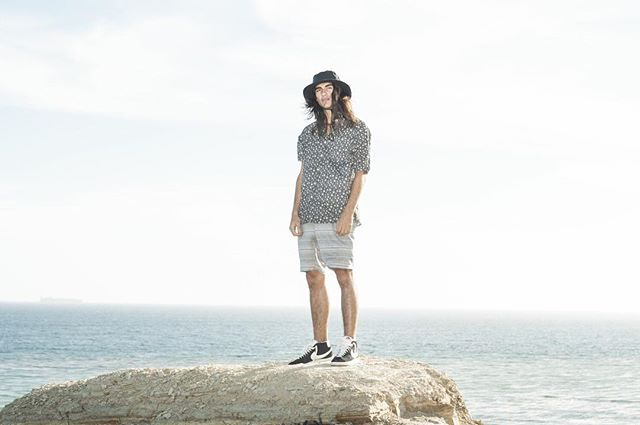 Dojer woven and Alledged walkshort from our Spring 2016 collection. #valorcollective Photo: @wardallthetime