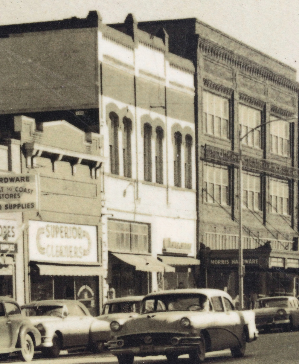 The Morris Building in the 1950s