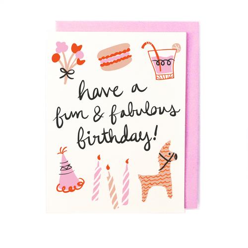 Fun Fabulous Birthday Card Little Low
