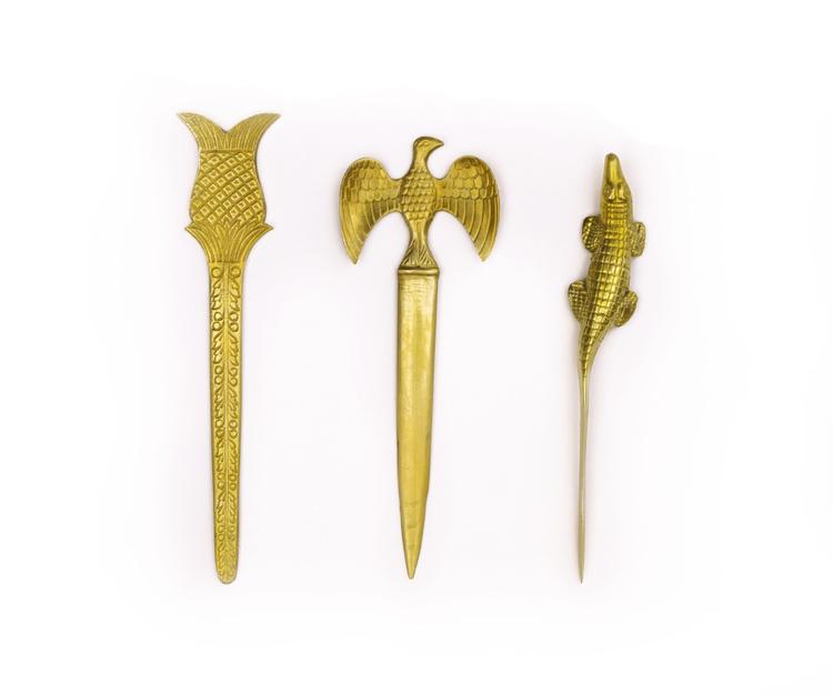 Vintage Brass Letter Openers — Little Low