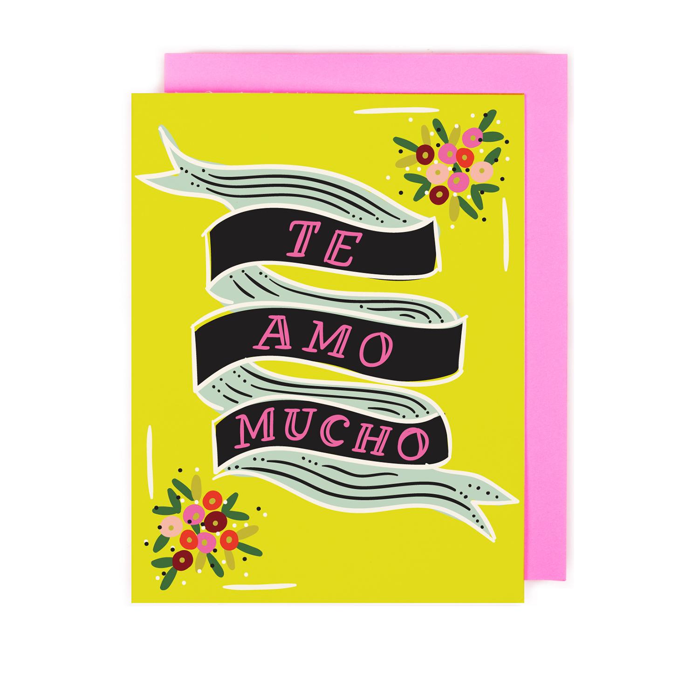 Te Amo Mucho Card Little Low Mas aquel a quien se le. little low