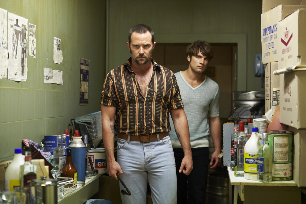 Sullivan Stapleton and Alex Russell in Cut Snake