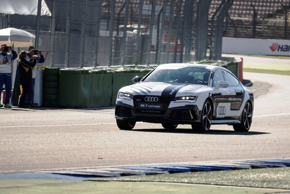 Audi RS7 Concept at Hockenheim