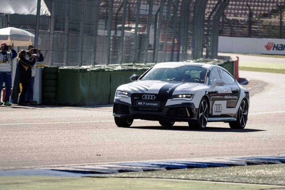 Audi RS7 Concept at Hockenheim
