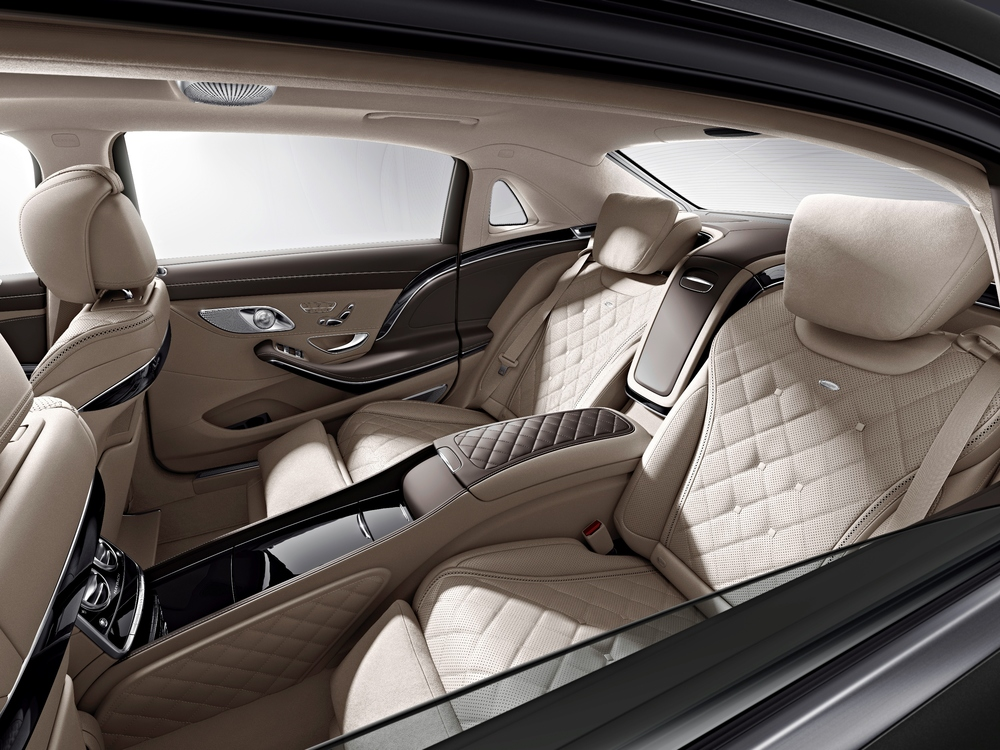 Unalloyed luxury - relax in a Maybach