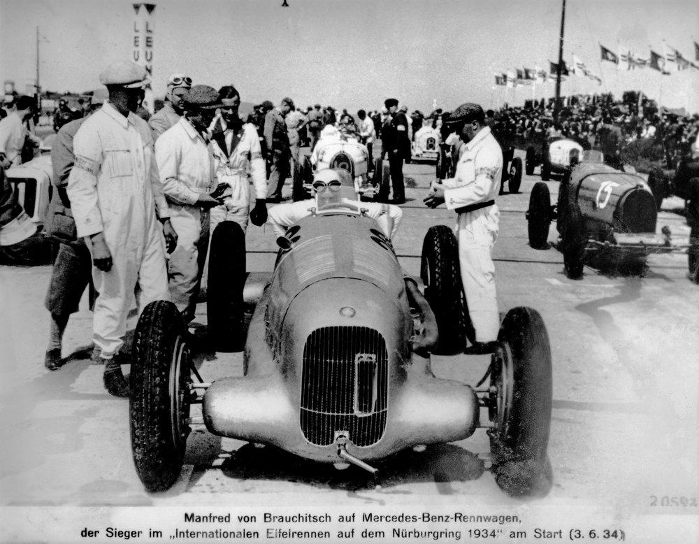 History of motor racing