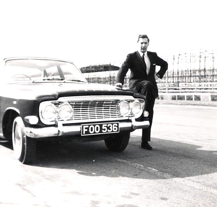 Some of my early car launches were with Ford – January 1962 for the Zodiac Mk III at Silverstone