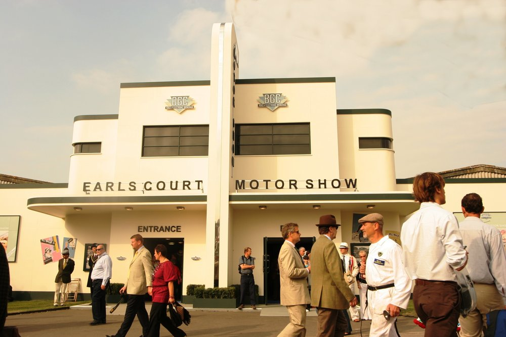 Goodwood even built its own pastiche Earls Court Motor Show venue