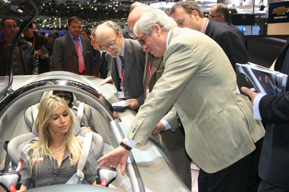 Giugiaro had keen audiences for impromptu sales pitches to world car makers
