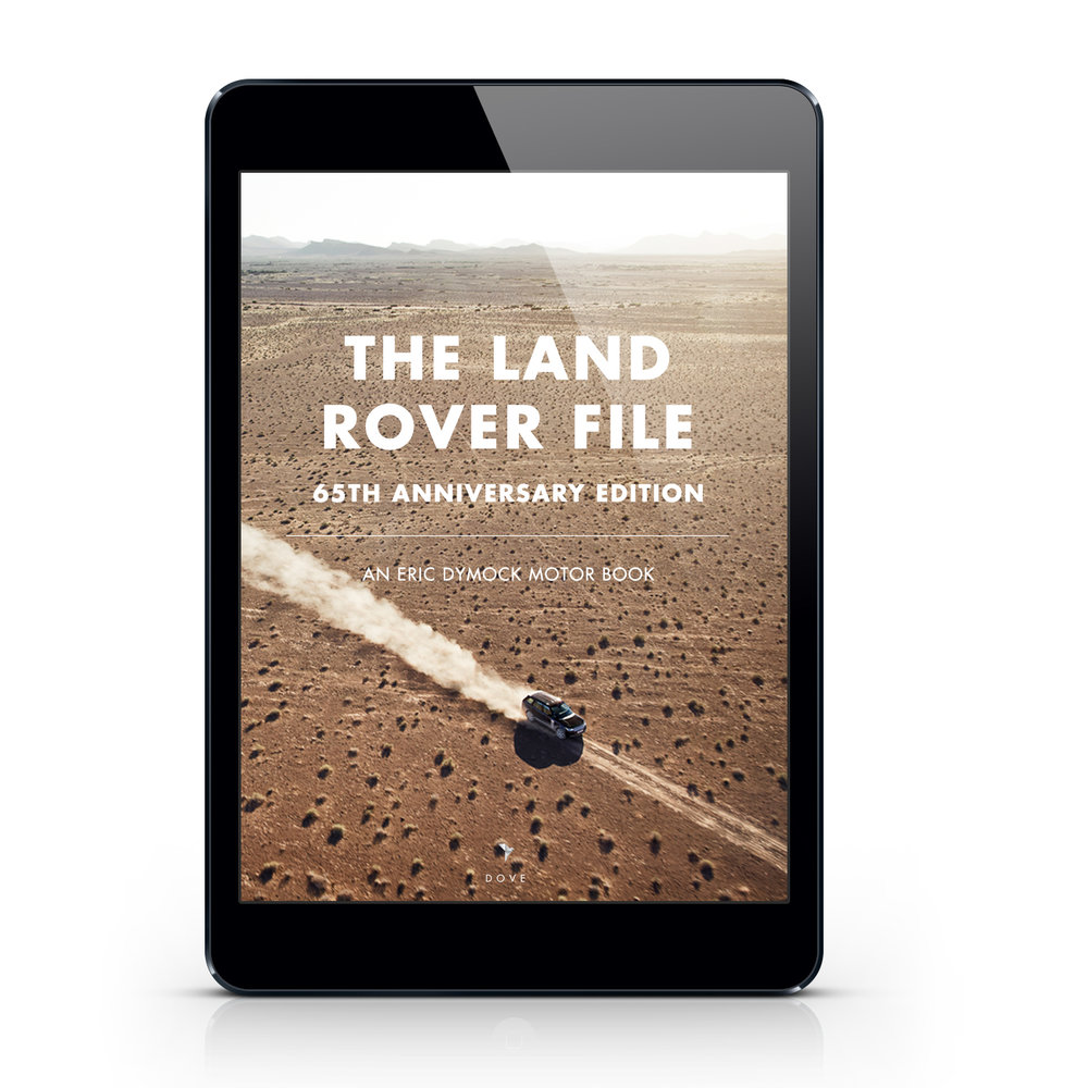 "Click here to buy ""The Land Rover File"" on Amazon"