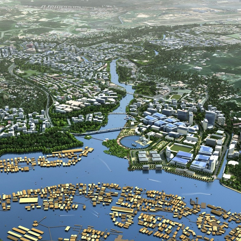 Bandar Seri Begawan Development Master Plan*, Brunei