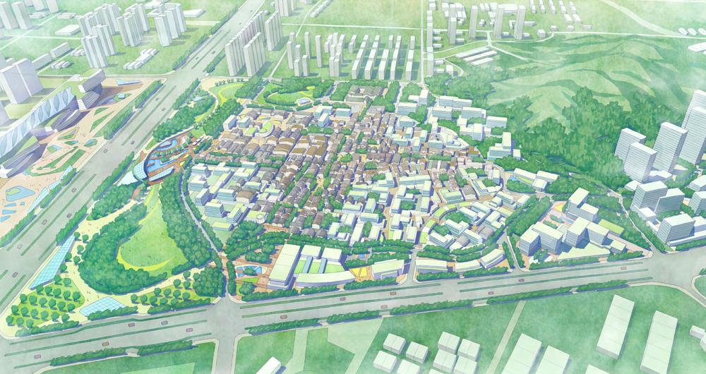 Beishancun aerial