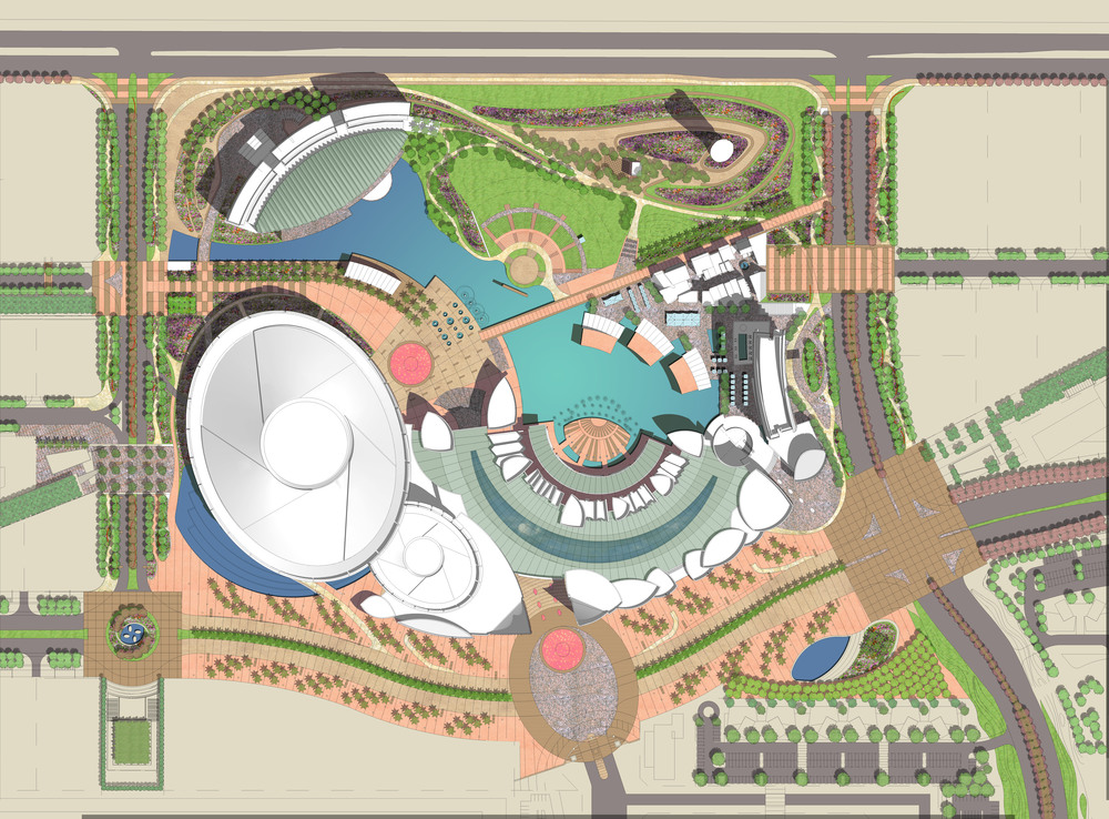 Dubai Movie City plan