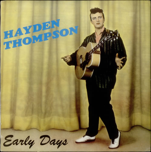 Hayden Thompson. He's no Elvis, but he'll have to do...